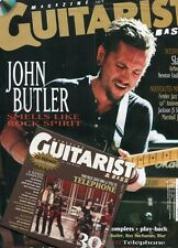 Guitarist Magazine #232 -John BUTLER- Slash, Airbourne, N. Faulkner+ CD exclusif