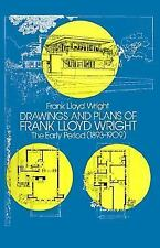 Dover Architecture: Drawings and Plans of Frank Lloyd Wright : The Early...