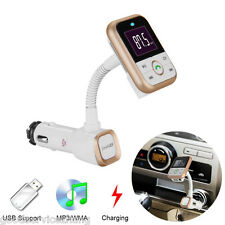 Wireless Bluetooth FM Transmitter MP3 Player Charger + Remote for iPhone Samsung