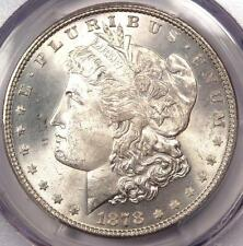 1878 7/8 TF Morgan Silver Dollar $1 - PCGS MS65+ PQ Plus Grade - $2,050 Value!