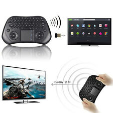 Mini Tastiera WIRELESS WIFI USB mouse Touchpad PC Android SMART TV 2,4GHz tablet