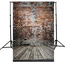 5x7Ft Retro Vinyl Brick Wall Background Studio Photography Photo Props Backdrop