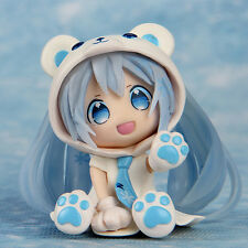 Vocaloid Hatsune Miku Polar bear Animation PVC Action Figure Model Toy Kids Gift