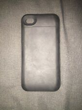 MOPHIE JUICE PACK PLUS Black USED iphone 4s 4 Rechargeable Battery Case W/ Bonus