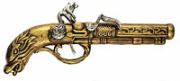 Pirate Highwayman Buccaneer Musketeer Musket Gun Flintlock Pistol Fancy Dress
