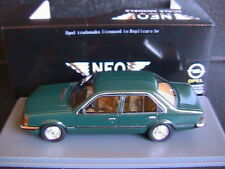 OPEL COMMODORE C 2.5 S 1978 GREEN NEO 43690 1/43 4 DOORS RESINE RESIN LHD
