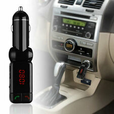 2 USB Port Car Kit MP3 Music Player Wireless Bluetooth FM Transmitter Radio