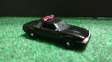 Greenlight 1987 Ford Mustang Black Police Pursuit Car 1:64 Diecast Black Bandit