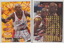 NBA FLEER 1995-1996 SERIES 2 - Clyde Drexler, Rockets # 290 - Mint