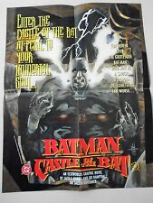 "Batman / Castle of the Bat - Orig. Folded Promo Poster ""1994"" / New cond.- 17x22"