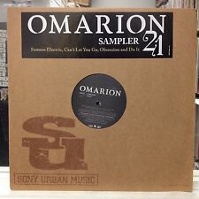 """NM 12""""~OMARION~21~Album Sampler~[Electric~Can't Let You Go~Obsession~Do It]~2006"""