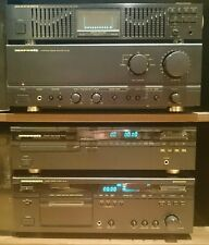 Marantz System - Amplifier PM-52, Equaliser EQ551, CD player CD-50, Deck SD-60