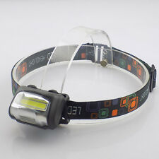 Mini led headlight high power headlamp AAA battery head torch lamp zoom Camping