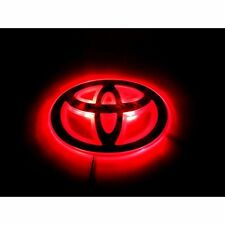 LED Car Logo Red light for Toyota Corolla Highlander Camry Auto Badge Light