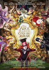 ALICE DE L'AUTRE COTE DU MIROIR Affiche Cinéma / Movie Poster 60x40 Johnny Depp