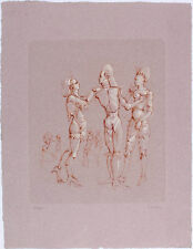 LEONOR FINI - L'Invitation (The Invitation) - 1990 Hand Signed Color Etching