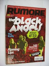 RUMORE RIVISTA #255 - THE BLACK ANGELS - FLAMING LIPS - ORCHID - CATHEDRAL