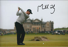 Michael HOEY SIGNED Autograph 12x8 Photo AFTAL COA Dunhill Links Golf Winner