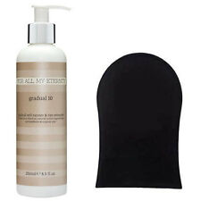 For All My Eternity Gradual 10 Paraben-Free Self Tan Lotion + Fake Tanning Mitt