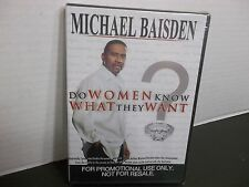 MICHAEL BAISDEN DO WOMEN KNOW WHAT THEY WANT NEW  DVD VIDEO