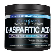 Genomyx D-ASPARTIC ACID Natural Testosterone Booster DAA TEST 60 Servings