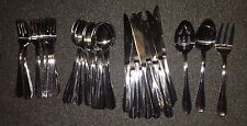 Cambridge Stainless Flatware Set Of 12 Place Settings & 3 Serving Tools