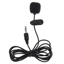 Mini Microphone MIC Micro-cravate Jack 3.5mm Pince Clip pour PC Netbook Laptop