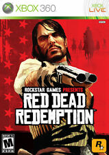 Red Dead Redemption (Microsoft Xbox 360, 2010) GOOD