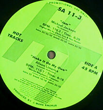 "MICHAEL JACKSON 12"" Jam HOT TRACKS Usa DJ Only Remix PS rare"