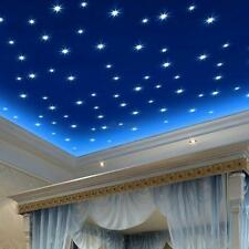 200PCS Star Wall Stickers Glow In The Dark Decal Baby Kids Room Bedroom Decor