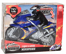 Motor Mania Motor Bike Light & Sound NUOVISSIMA
