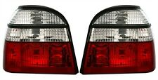 CRYSTAL CLEAR REAR TAIL LIGHTS LAMPS FOR VW GOLF MK3 MK 3 III 1991-1998 MODEL
