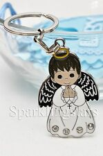 12 Boy Angel Keychain Favor Baptism First Communion Christening Bautizo LLavero