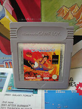 Game Boy GB:Aladdin [TOP DISNEY / 1ERE EDITION] SEUL - Fr