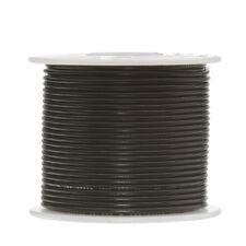 """24 AWG Gauge Stranded Hook Up Wire Black 250 ft 0.0201"""" UL1007 300 Volts"""
