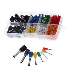 400pcs Insulated Electrical Wire Cable Terminal Crimp Connector Set Kit Box Y3F1