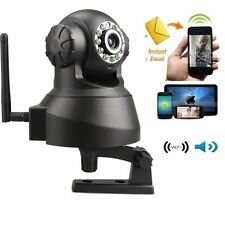 Wireless WiFi Internet IP Camera Webcam Baby/Pet Monitor CAM Day/Night Speaker
