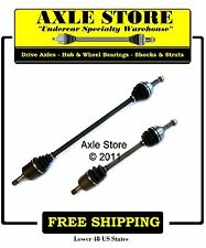 2 New CV Axles 1988-1991 Honda Civic, CRX with 26 Splines Outer Joints