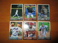 J.B. SHUCK JB White Sox Signed 2015 Topps Update Card #US 296 AUTO Autograph