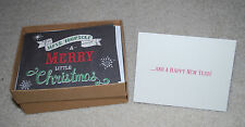 Christmas New Year Greeting Cards Molly & Rex Box Set 16 Holiday Cards AS IS