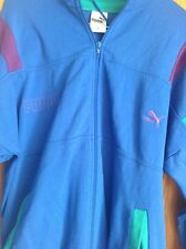 Vintage Puma Jacket Track Suit/ Festival/retro Size Large Men's Vgc