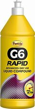 Farecla G6 Rapid Liquid Compound 1lt Squeezy Bottle Dry Use Garage 1000ml
