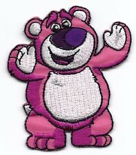 LOTSO BEAR in Disney Toy Story Movie embroidered Iron/Sew On Patch
