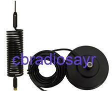 "Radio CB Antenna Kit - 5"" Supporto Magnetico con piccolo Springer Antenna"
