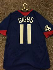 MANCHESTER UNITED 2005/06 CHAMPION LEAGUE AWAY SHIRT ADULTS(M) 11 GIGGS