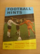 circa 1970's Anglo Confectionary: Football Hints - Vol.02 Passing The Ball, Smal