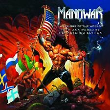 MANOWAR - Warriors of the World, 10th Anniversary, Remastered Edition CD NEU+OVP