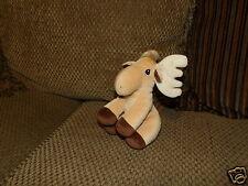 "HTF 5"" Enesco Precious Moments Tender Tails Plush MOOSE Elk *"