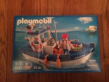 Playmobil 5131 Fishing Boat New in Box!