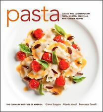 Pasta: Classic and Contemporary Pasta, Risotto,Crespelle, and Polenta -ExLibrary